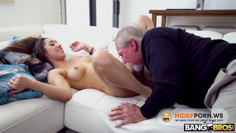 BangBros18 - Kira Perez - Kira Gets Pounded By Grandpa [FullHD 1080p]