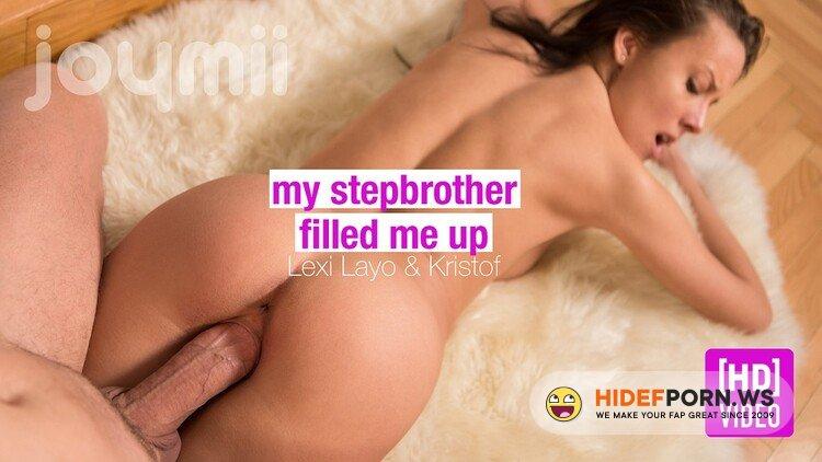 JoyMii.com - Lexi Layo - My Stepbrother Filled Me Up [FullHD 1080p]