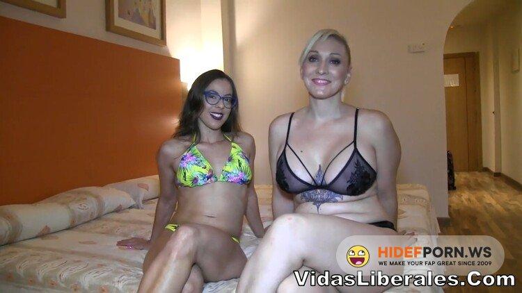 VidasLiberales.com/FAKings.com - Bruno y Maria, Daniela Evans, Arcangel, Susy Dance - 5 anos despues, Daniela regresa al porno. SQUIRTING y trio A PELO con sus mejores amig@s [HD 720p]