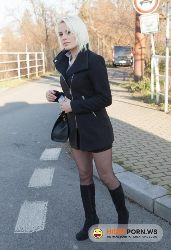 PornPremium.com - Lucci - Naughty Czech Blondi Fuck In Taxi Car [HD 720p]
