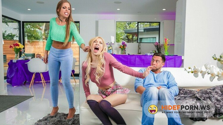 MomsBangTeens.com/RealityKings.com - Britney Amber, Kenzie Reeves - Easter Dinner At Stepmoms [HD 720p]