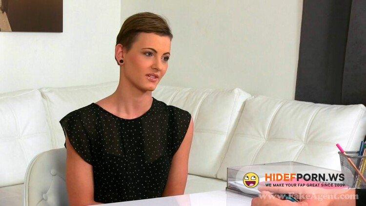 FakeAgent.com/Casting.xxx - Bella - Skinny Brunette Babe Sucks And Fucks In Casting [FullHD 1080p]