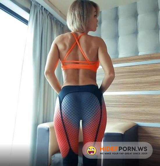 Amateurporn.cc - Midju Show - Coach Fucked Fitness Model [FullHD 1080p]