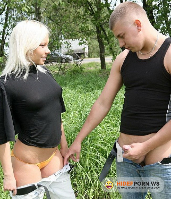MyTeenVideo.com - Marina - Russian Sex In The Park [HD 720p]