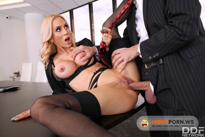 HandsOnHardcore - Sarah Jessie - Nailed By Boss' Big Cock [FullHD 1080p]