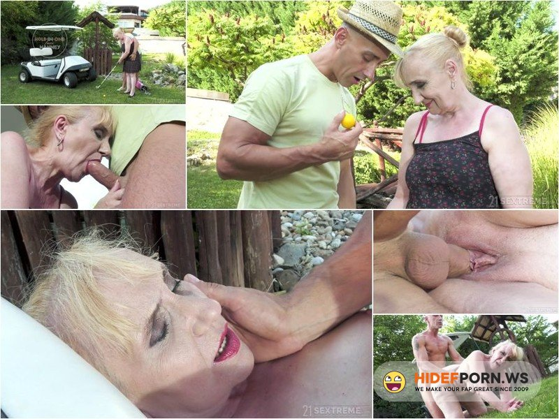 LustyGrandmas - Nanney - Hole-In-One With Nanney [FullHD 1080p]
