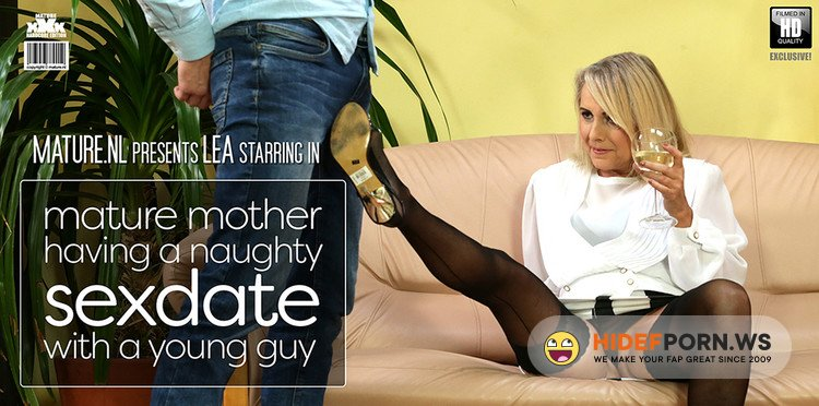 Mature.nl - Lea - Mature Mother Having A Naughty Sexdate With A Young Guy [FullHD 1080p]