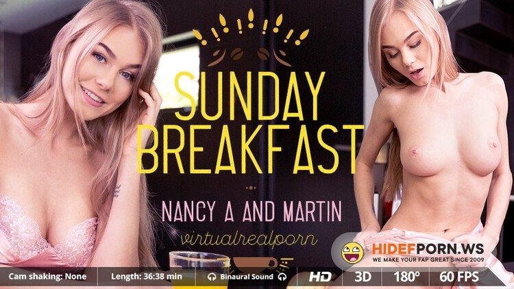 VirtualRealPorn.com - Nancy A - Sunday breakfast [UltraHD 2K 1600p]