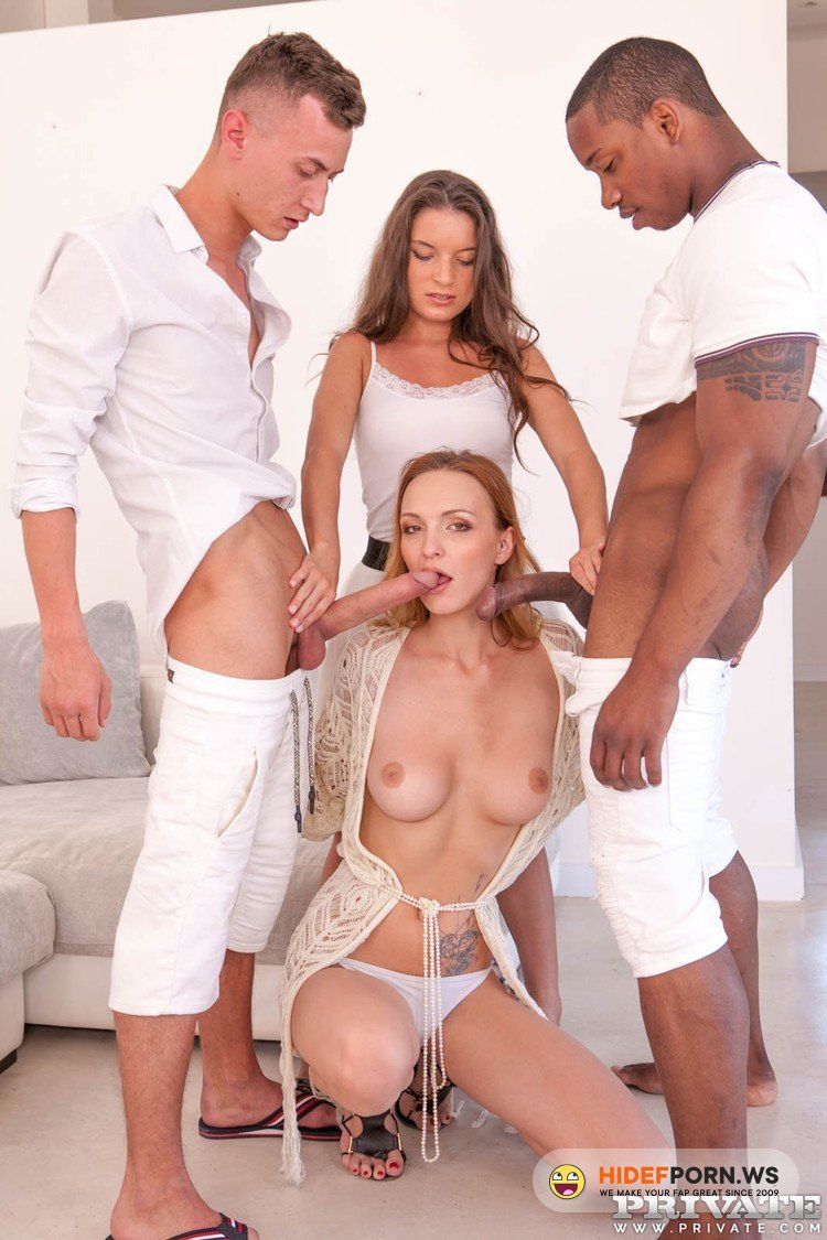 AnalIntroductions.com/Private.com - Belle Claire, Anita Bellini - Belle Claire and Anita Bellini, interracial orgy with DP [FullHD 1080p]