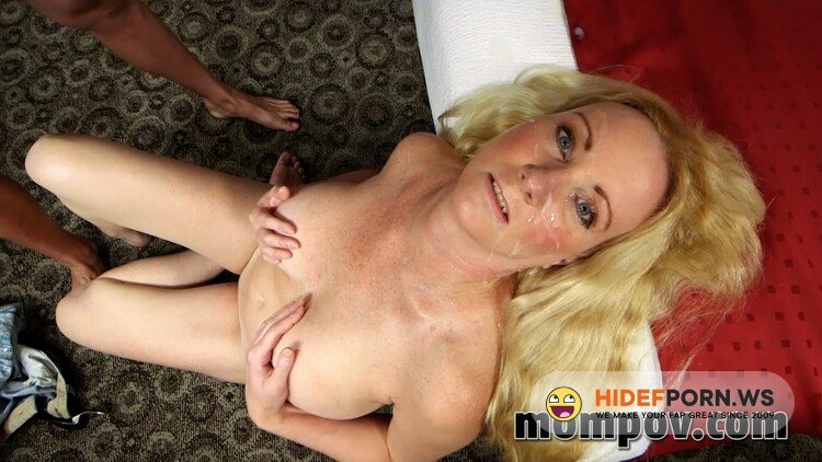 MomPov.com - Brenda - 42 year old busty blonde gets tag teamed [HD 720p]