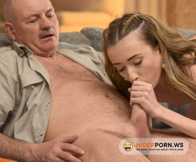BeautyAndTheSenior.com - Jessi Empera - Russian Teen Suck Cock For Old Man [FullHD 1080p]