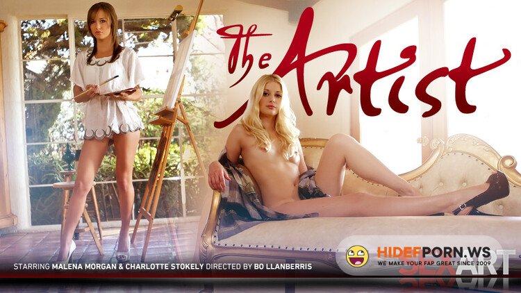 SexArt.com - Charlotte Stokely, Malena Morgan - The Artist [FullHD 1080p]