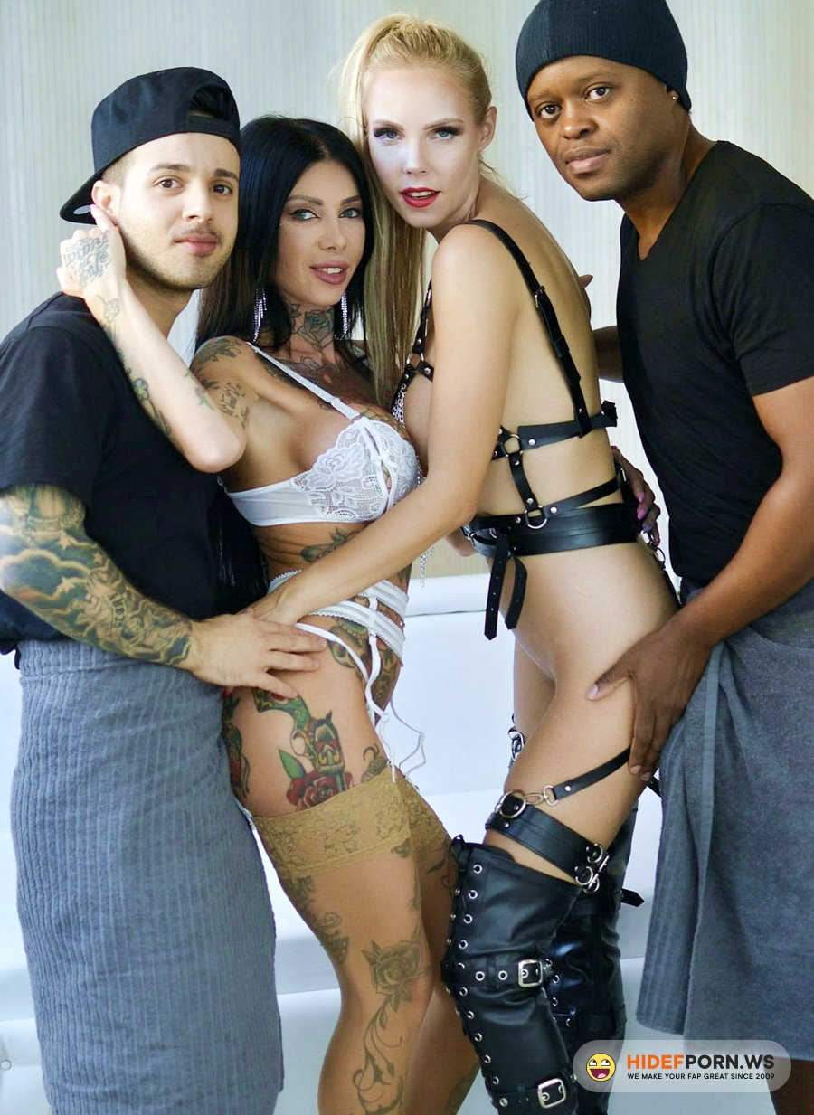 LegalPorno.com - Megan Inky, Florane Russell - Megan Inky Intensive DAP, DP, Fast Anal Fucking With Lesbian Parts, Gapes, Rough Deepthroat NF042 [UltraHD 4K]