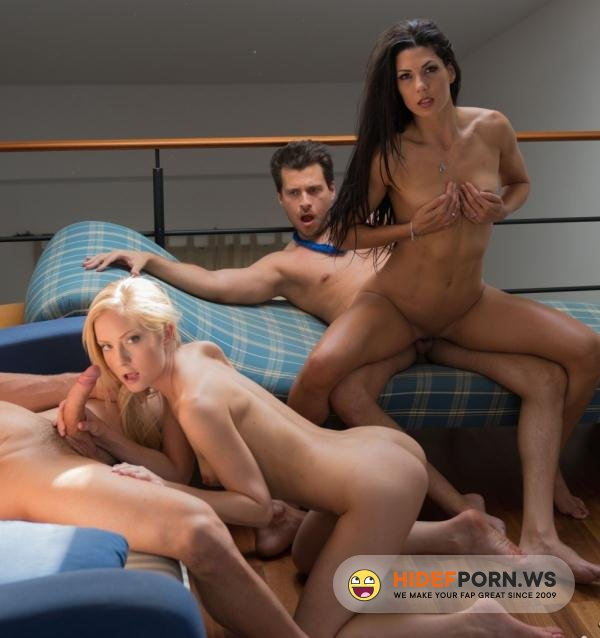 LosConsoladores.com/PornDoePremium.com - Sicilia, Alexa Tomas - Hardcore cuckolding foursome with hot Spanish and Hungarian wives [FullHD 1080p]