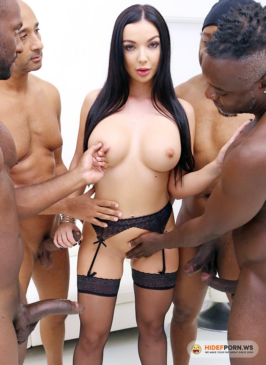 LegalPorno.com - Lady Gang - Lady Gang Interracial Double Penetration With 4 BBC SZ2497 [FullHD 1080p]