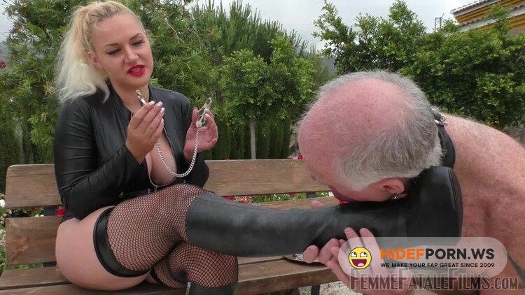FemmeFataleFilms - Mistress Fox - Stiletto Boot Prints - Super Hd - Part 1 [FullHD 1080p]