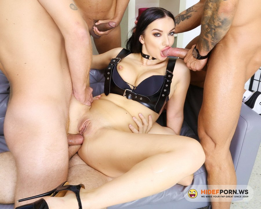 LegalPorno.com - Lady Gang - Fucking Wet, Lady Gang 4 On 1 Balls Deep Anal, DAP, Gapes, Pee Drink And Swallow GIO1589 [HD 720p]