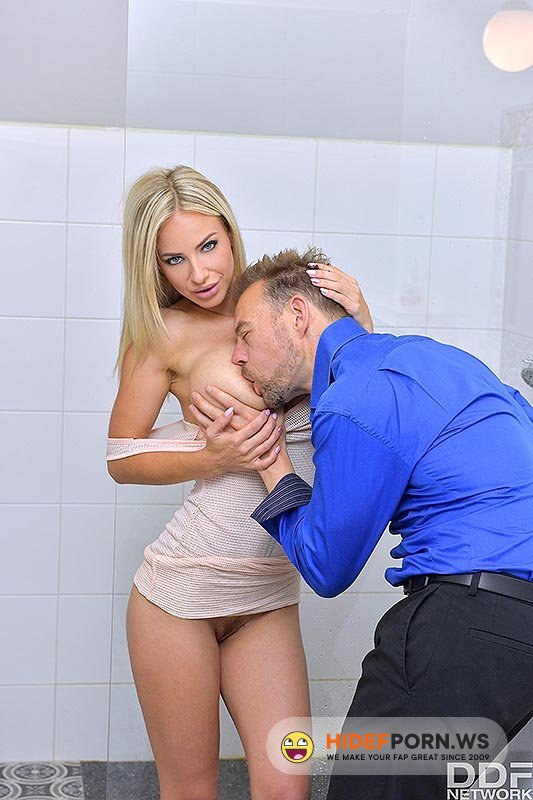 DDFBusty/DDFNetwork - Nathaly Cherie - Busty Blonde's Anal Desires [FullHD 1080p]