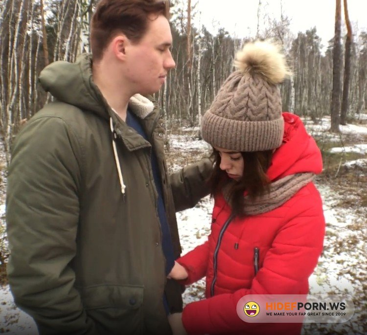 Pornhub.com - ADOLFxNIKA - Bitch Asks for Cum in his Mouth right in the Forest and can no Longer Wait [FullHD 1080p]