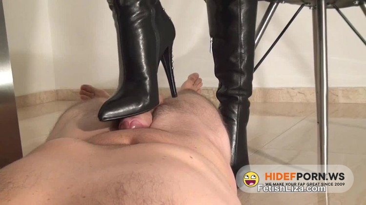 QueensOfKink - Fetish Liza - Boot Worm Milked [HD 720p]