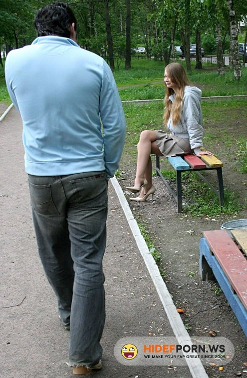 PickupGirls.com - Amateur - Pickup And Fuck In The Park Russian Teen [SD 576p]
