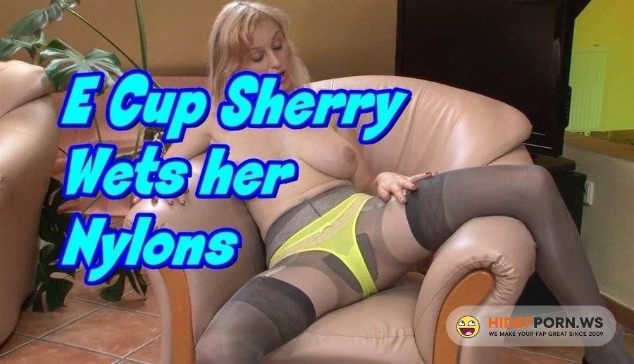 FFstockings - Sherry Riley - E Cup Sherry Wets Her Nylons [2020/FullHD]