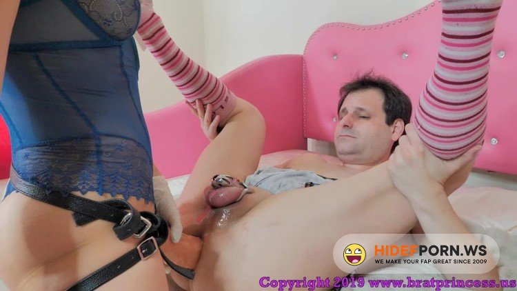 BratPrincess - Sadie - Sadie-Trains Her Submissive Husband With Strap-On Sex [FullHD 1080p]