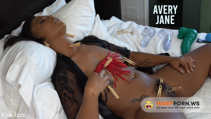 KinkyBites - Avery Jane - Jet Setting Jasmine Kinky Self Care [SD 400p]