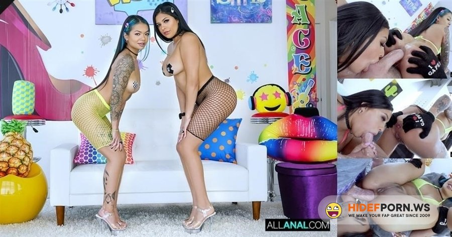 AllAnal - Paisley Paige, Serena Santos - Anal Party With Paisley And Serena [2020/HD]