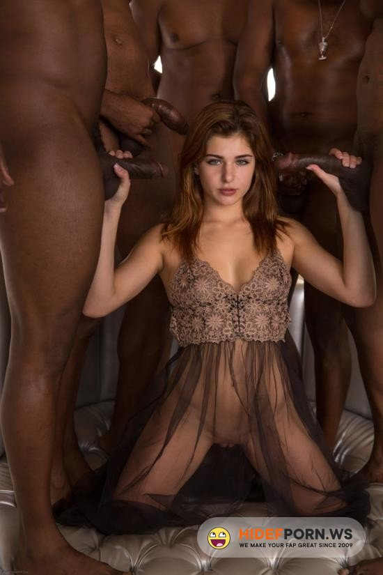 LegalPorn.com - Leah Gotti - First Interracial Gang Bang [HD 720p]