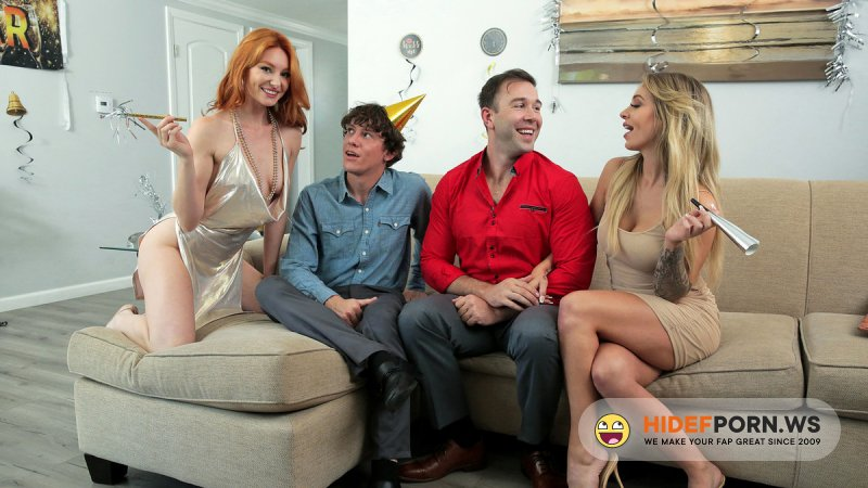 FamilySwap.XXX - Lacy Lennon, Madelyn Monroe - Swap Daughters New Years Resolution [SD 720p]