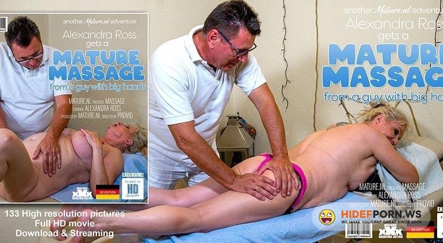 Mature - Alexandra Ross - Curvy Alexandra Ross Gets A Special Massage [2020/FullHD]