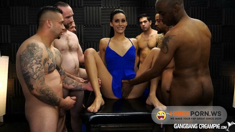 GangbangCreampie.com - Gia Vendetti - GangBang Creampie 196 [FullHD 1080p]