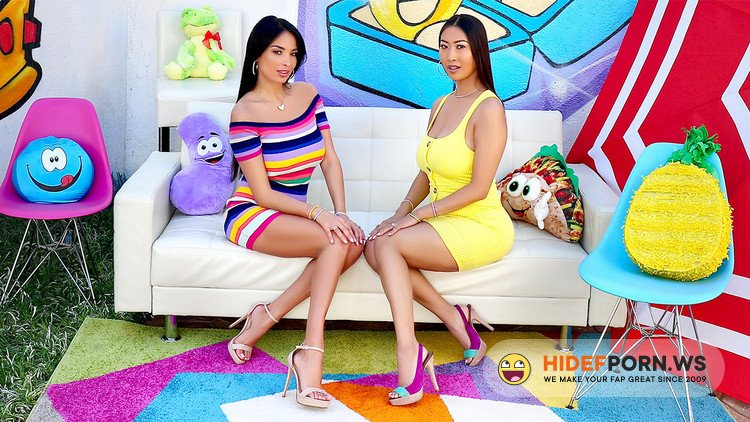 AllAnal.com - Anissa Kate, Sharon Lee - Tit And Ass Fucking With Anissa And Sharon [HD 720p]