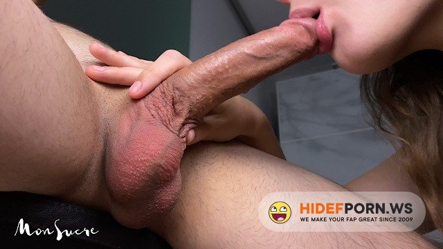 PornhubPremium - MonSucre - She Sucked My Soul Out - Best Close-Up Pulsating Oral Creampie In The World [2020/FullHD]