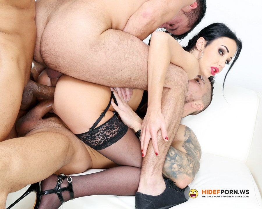 LegalPorno.com - Laura Fiorentino - My First TP, Laura Fiorentino 5 On 1 Balls Deep Anal, DAP, Gapes, ButtRose, Squirting And Creampie Swallow GIO1676