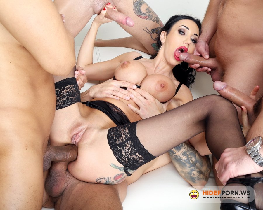 LegalPorno.com - Laura Fiorentino - My First TP, Laura Fiorentino 5 On 1 Balls Deep Anal, DAP, Gapes, ButtRose, Squirting And Creampie Swallow GIO1676 [HD 720p]