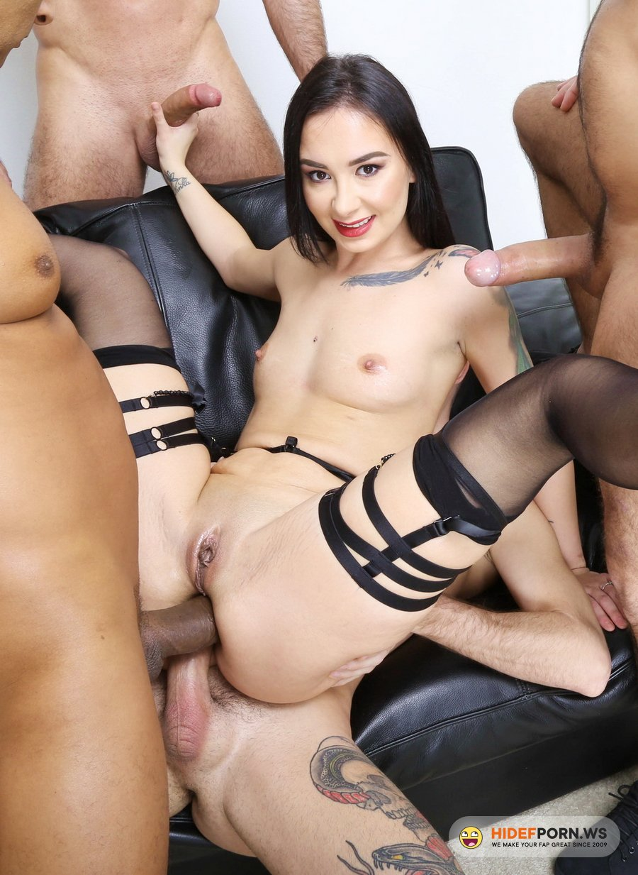 LegalPorno.com - Freya Dee - Funnelled With Roses, Freya Dee 4 On 1 Balls Deep Anal, First ButtRose, DAP, Pee Drink And Creampie To Swallow GIO1722 [HD 720p]