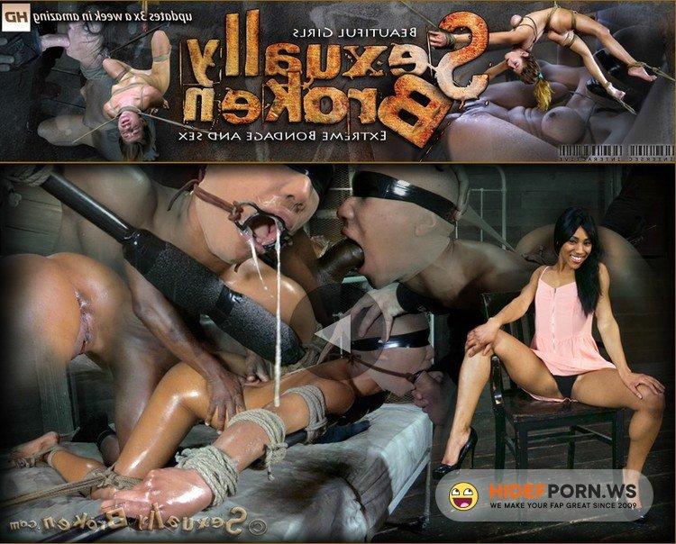 SexuallyBroken.com - Nikki Darling, Matt Williams, Jack Hammer - Tiny 95lb classically trained dancer, roughly deep throated, brutal fucking [HD 720p]