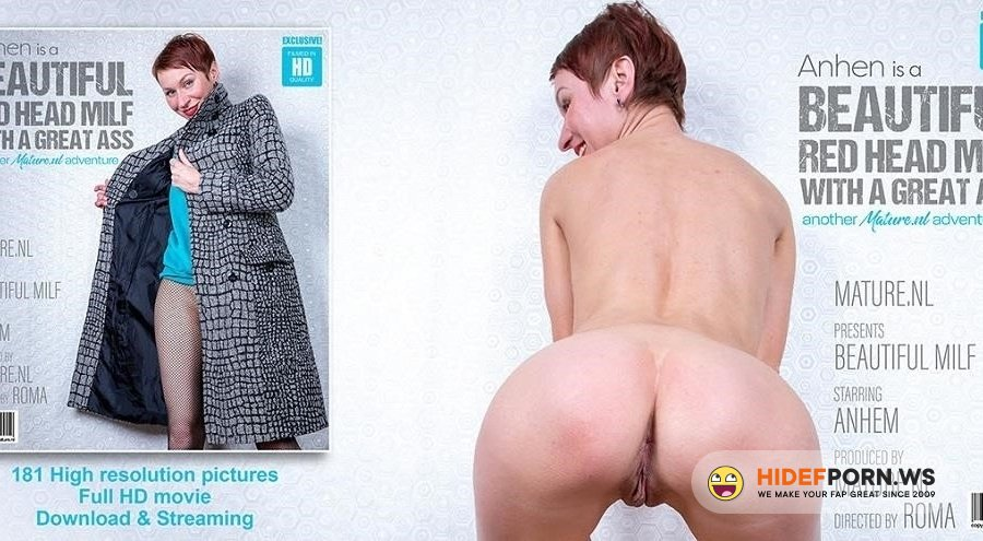 Mature - Anhen - Short Red Haired Milf Anhen With Her Perfect Ass [2020/FullHD]