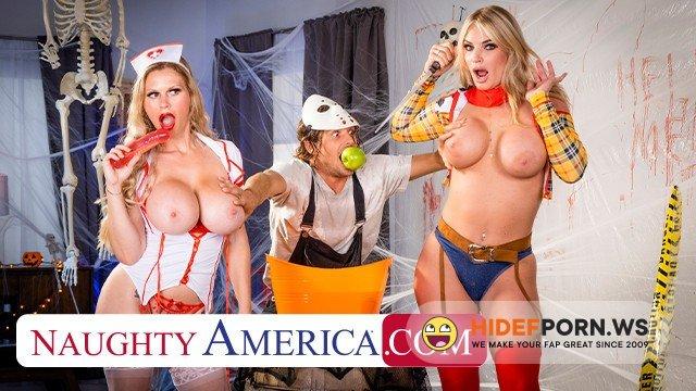 MyFriendsHotMom - Casca Akashova, Rachael Cavalli - MILFs in Costume, need some Dick after a Big Sca! [HD 720p]