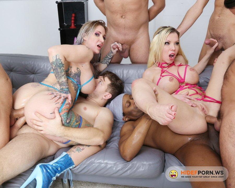 LegalPorno.com - Barbie Sins, Alexxa Vice - Wet UK Supersults With Barbie Sins And Alexxa Vice 2, Orgy With Balls Deep Anal, Dap, Gapes, Buttrose, Pee Drink GIO1692 [FullHD 1080p]