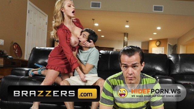 Brazzers - Joslyn James - Busty MILF Joslyn James gets fucked hard by her sons friend [FullHD 1080p]