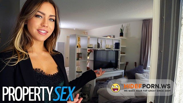 PropertySex - Alina Lopez - Real Estate Agent gets Horny and Makes Sex Video with Client [FullHD 1080p]