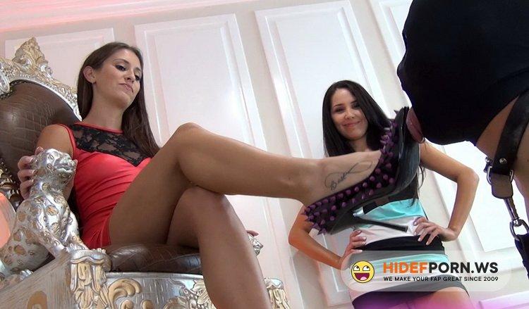 MiamiMeanGirls - Princess Beverly, Princess Bella - Shoe Licking Reward [FullHD 1080p]
