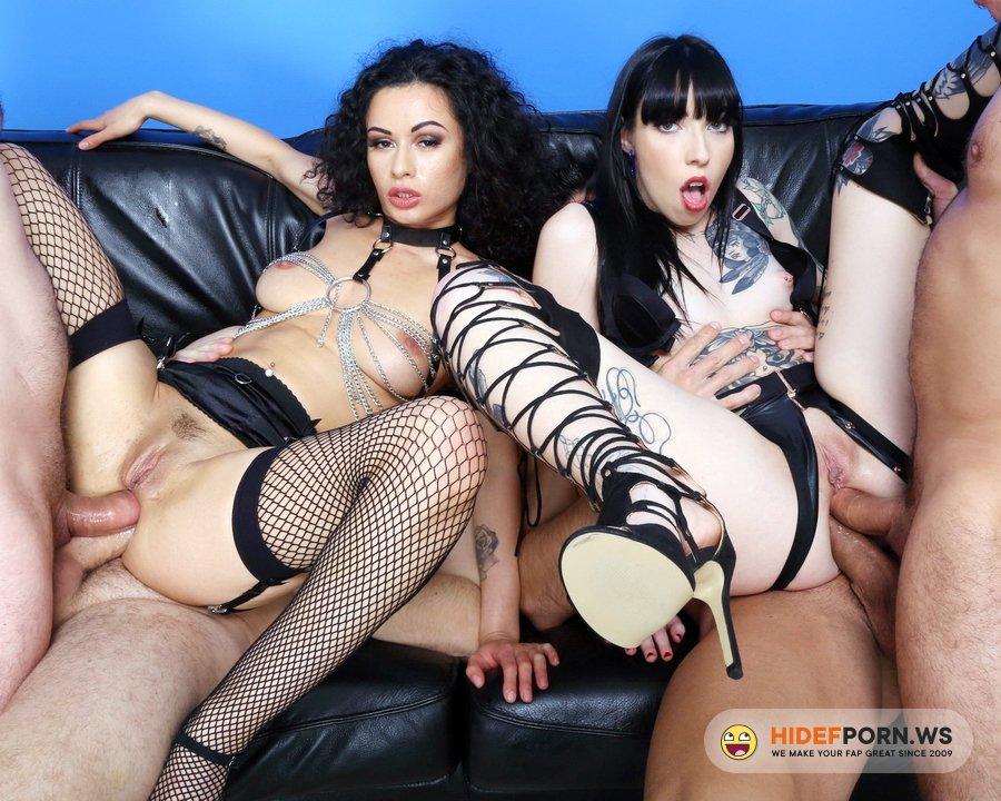 AnalVids.com, LegalPorno.com - Stacy Bloom, Giada Shg - DAP Me, Lick My Buttrose And Cum In My Ass, Stacy Bloom And Giada Shg With Balls Deep Anal And Creampie Swallow GIO1736 [HD 720p]
