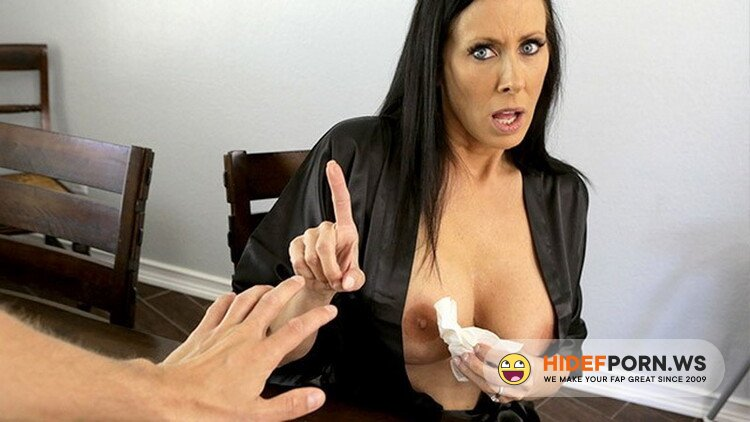 MomsTeachSex - Reagan Foxx - Fucking my Hot Big Tit Step Mom before Interview [FullHD 1080p]