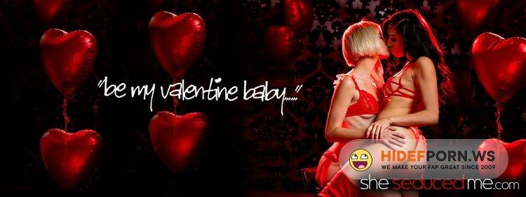SheSeducedMe.com - Jessie Saint, Judy Jolie - Be My Valentine [FullHD 1080p]
