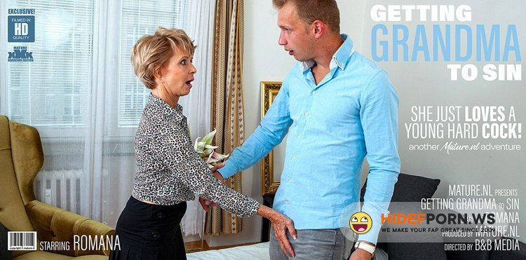 Mature.nl - Romana (69) - Granny wants a younger cock to suck and fuck! [FullHD 1080p]
