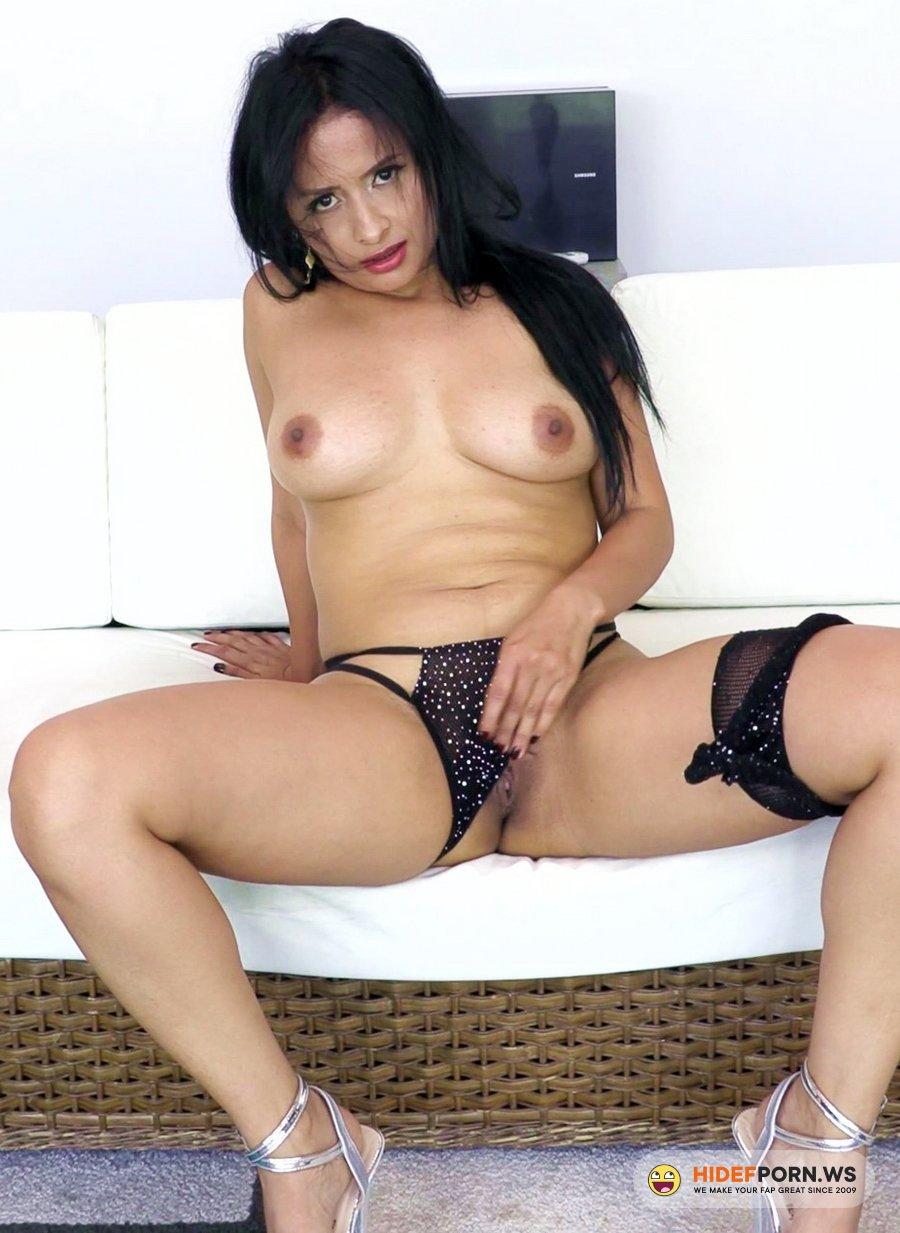 AnalVids.com, LegalPorno.com - Addy Queen - Big Butt Colombian Milf Addy Queen Gets Her First DAP NT072 [UltraHD 4K]